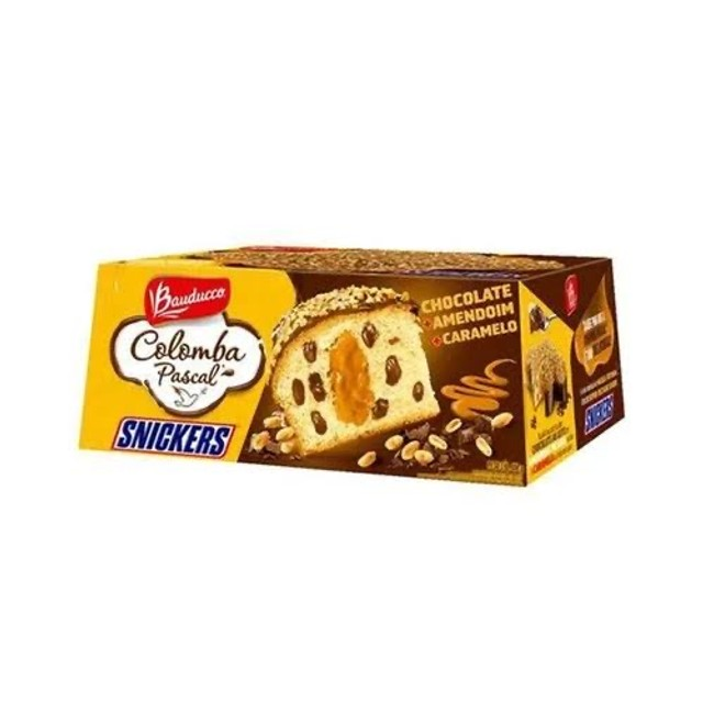 Colomba Pascal snickers Bauducco 500g