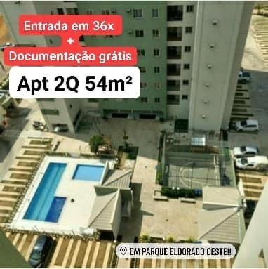 Apartamento com entrada parcelada