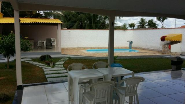 Linda Casa em Alvenaria com Piscina e Churraqueira - Bujari