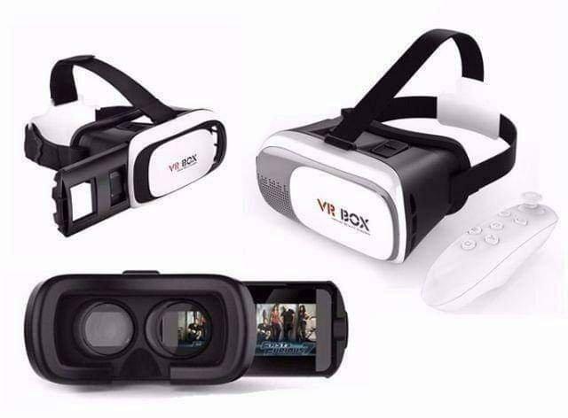 c9ff37b0c Óculos Vr Box 2.0 Realidade Virtual 3d Android Ios Controle ...