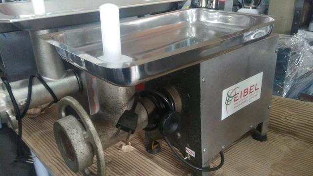 Moedor de carne inox boca 10 usado 220v
