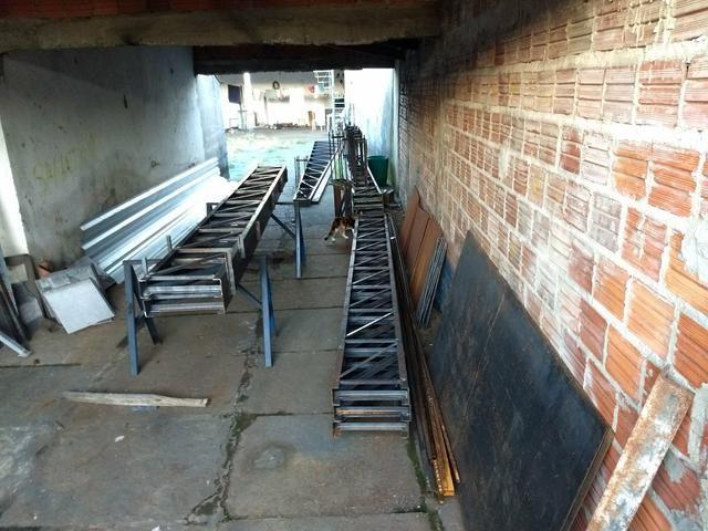 Treliças Metálicas Para Teto. Escadas Metálicas etc - Foto 5