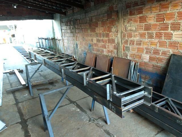 Treliças Metálicas Para Teto. Escadas Metálicas etc - Foto 4
