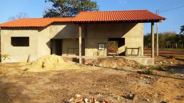 Vendo casa em acabamento dentro de condomínio-Campo Maior-PI - Foto 3