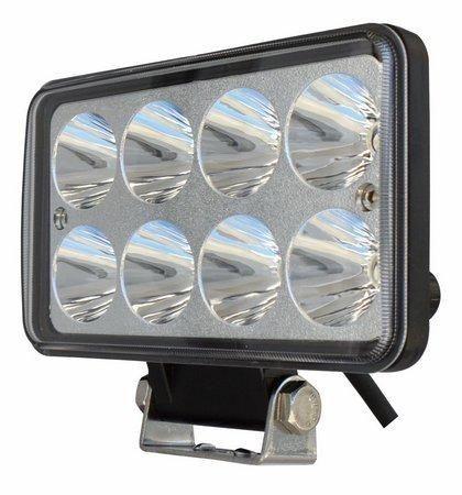 Farol em LED Retangular 8 leds alta e baixa - Foto 2