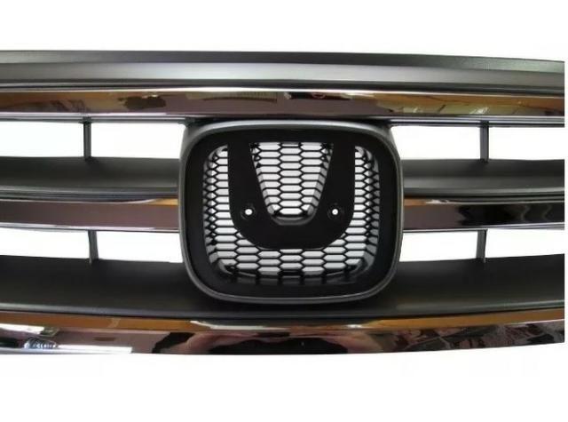 Grade Radiador Cinza Friso Cromado Honda Crv 2012 2013 2014 - Foto 6