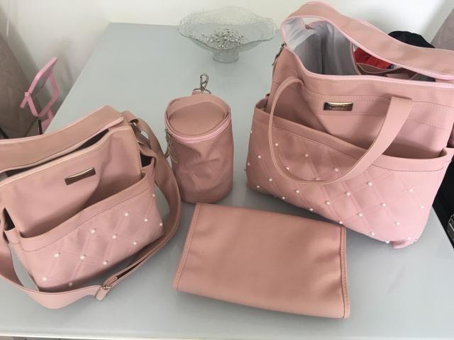 Bolsa maternidade pouco usada - Foto 3