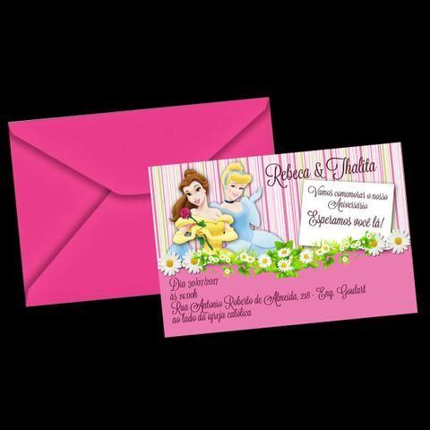 Personalizado convite aniversário e casamento - Foto 2
