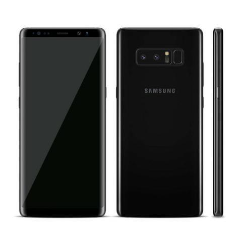 Galaxy Note 8 Preto 64gb com capa e carregador wireless - Foto 3