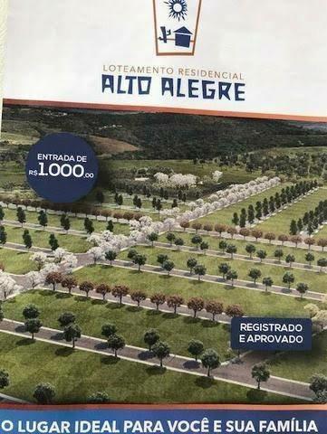 Repasse terreno Alto Alegre