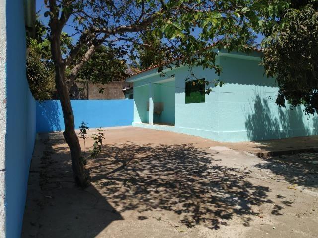 Casa 2 Qts na Laje terreno com escritura, Colonia Agrícola Samambaia,Entrada do Sam's Club
