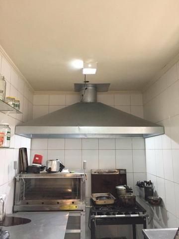 Vendo coifa para cozinha profissional - Foto 2