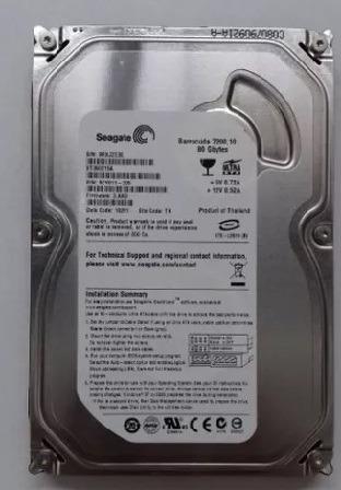 HD Interno Seagate-80Gb - IDE