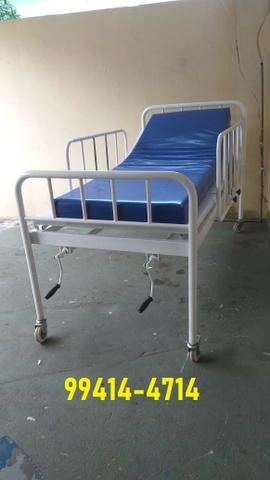 Cama Hospitalar 02 Manivelas 04 Movimentos Venda * - Foto 6