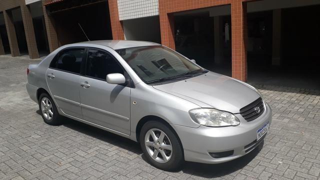 Raridade: Corolla XEI 2003/2003, câmbio manual,impecável, aceito troca - Foto 2