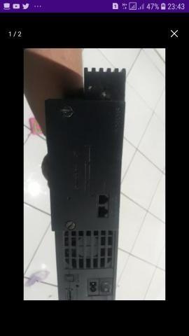 Ps 2 com modem fat troco em celular sem defeito ou venda - Foto 2
