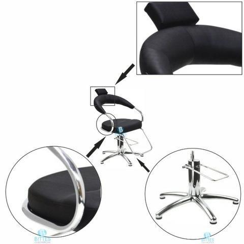 Cadeira Profissional 100% Hidráulica para Salão Temos Vários Moveis para Salão - Foto 2