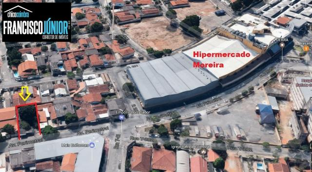Lote Comercial no Setor Coimbra 450 m² na Av. Perimetral encostado no Hiper Moreira