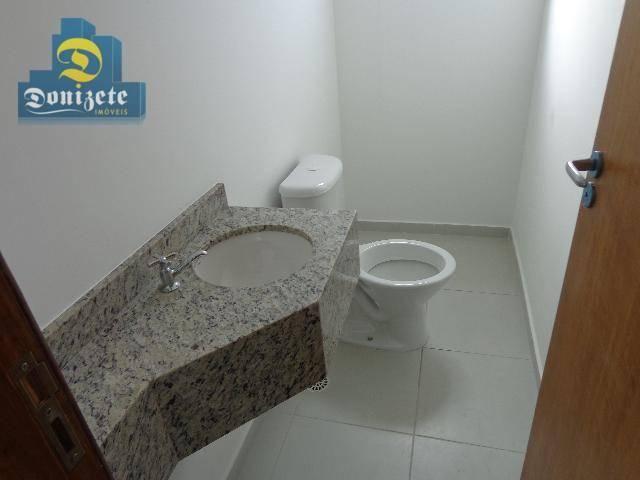 Sobrado residencial à venda, Vila Alzira, Santo André. - Foto 13