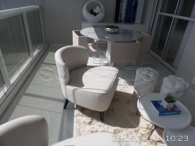 Apartamento no Itaim Bibi 1 Suíte Luxo 54m², condomínio com ótima estrutura - Foto 4