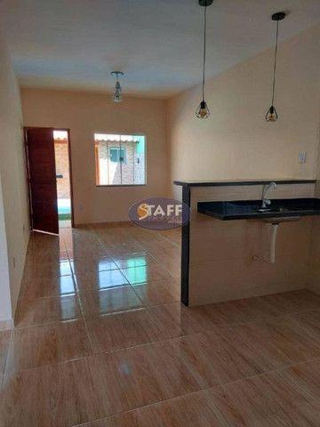 K- Casas lindas com 2 quartos, sendo 1 suíte, no Gravatá em Unamar - Foto 11