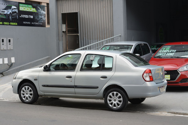 RENAULT CLIO SEDAN EXPRESSION 1.0 8V GASOLINA 4P MANUAL 2008 - Foto 4