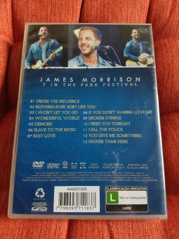 NOVO - DVD James Morrison - T In The Park Festival - Foto 4