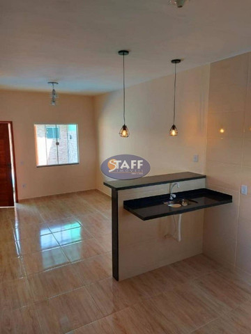K- Casas lindas com 2 quartos, sendo 1 suíte, no Gravatá em Unamar - Foto 12