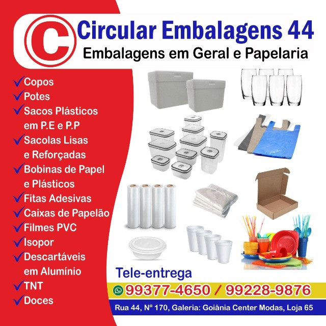 Embalagens de Marmitex Isopor na 44 e na Circular Embalagens 44 - Foto 3