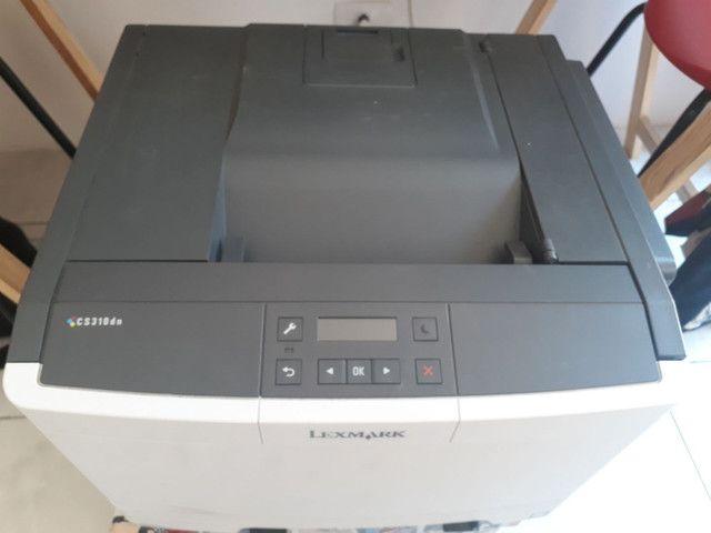 Impressora colorida laser Lexmark  - Foto 3