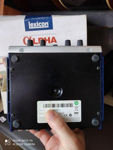 Interface Áudio USB Lexicon Alpha - Foto 3