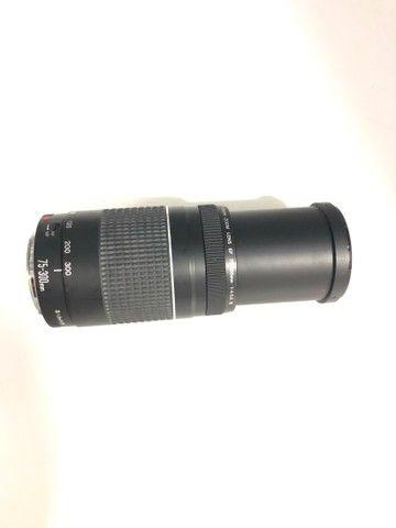 Lente canon 75 300  - Foto 3