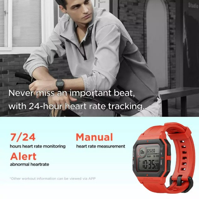 Amazfit Neo Smartwatch Xiaomi Retrô Versão Global Original Lacrado - Foto 3