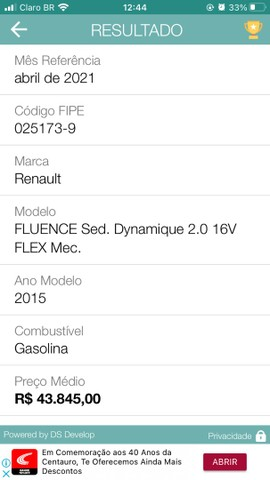 Vendo ou troco Fluence manual  2.0  - Foto 7