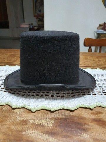Cartola de tecido preta - Foto 2