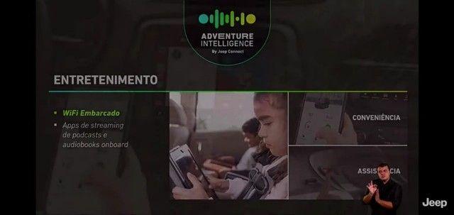 Novo Jeep Compass Sport 1.3 turbo flex 2022 SUV 185 cavalos PJ e PCD - Foto 12