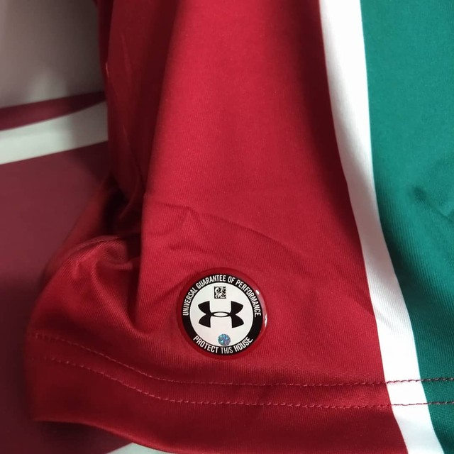 Camisa Fluminense tricolor Under Armour 2019 - Foto 3