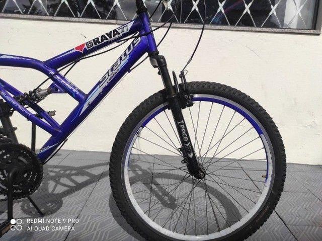 Bicicleta Status Fullsion Aro 26 - Foto 4