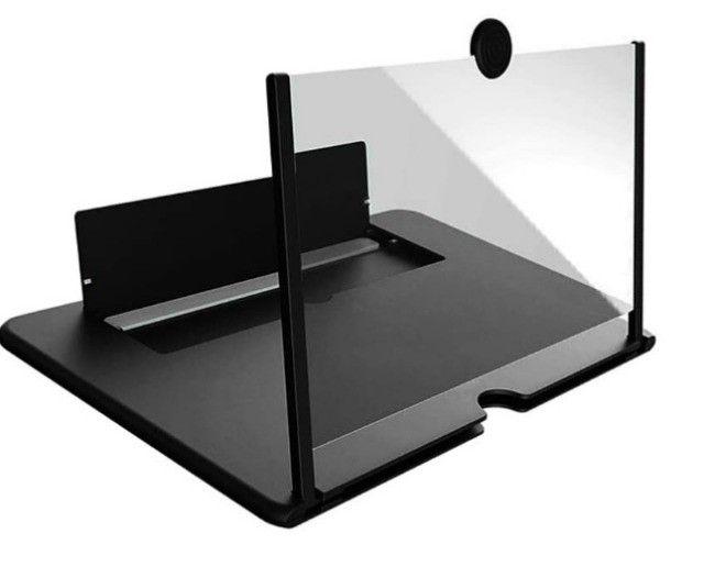 Lupa Amplia tela Celular 3D Lupa