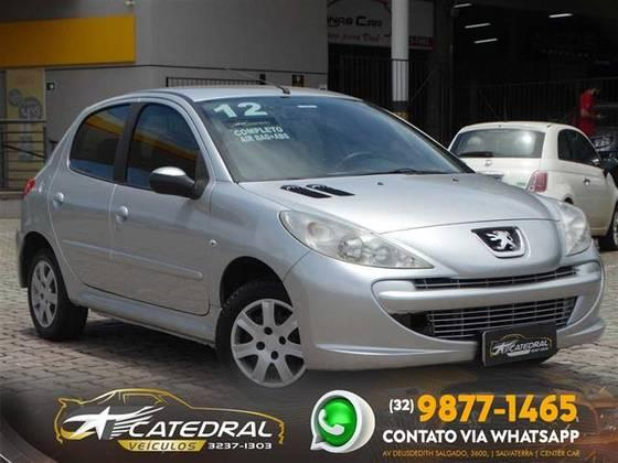 PEUGEOT 207 2011/2012 1.4 XR 8V FLEX 4P MANUAL