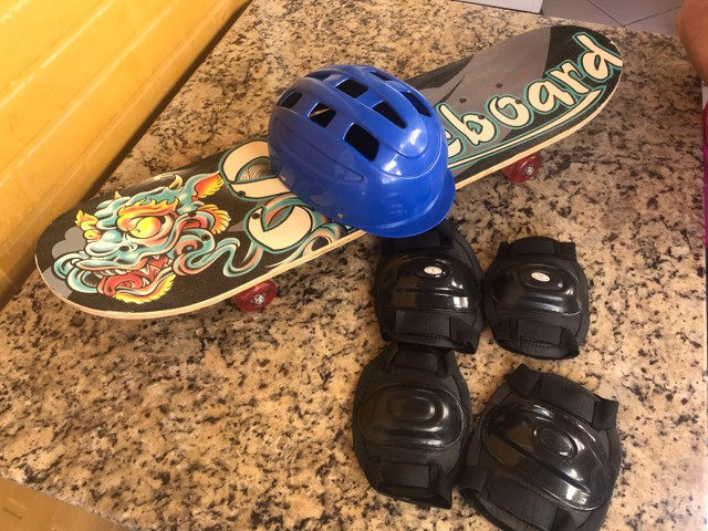 Skate 4 rodas novinho nunca usado - Foto 5