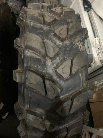 pneu rodas  para jeep willys trilha troller  - Foto 6