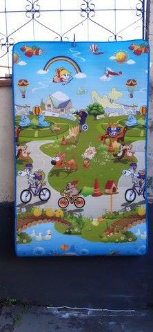 Tapete infantil- medidas:  1.80 x 1.00- grátis  bolsa - Foto 6