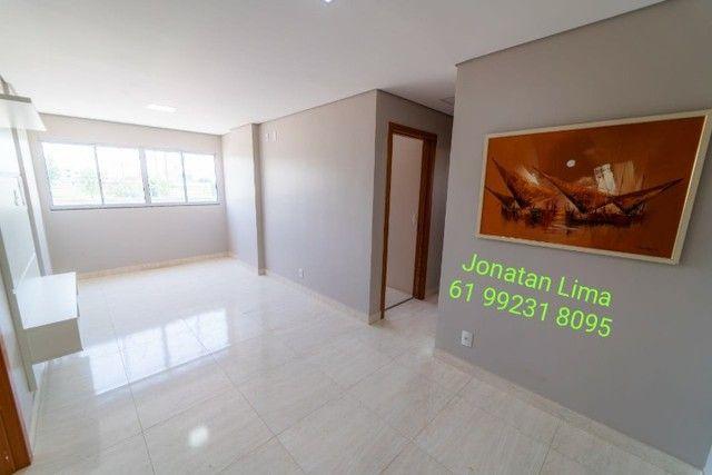 Apartamentos na Samambaia de 2 quartos com suíte-61 m² - Foto 2