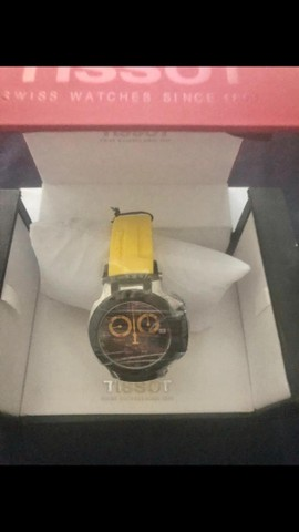 Tissot T-Race Amarelo Original
