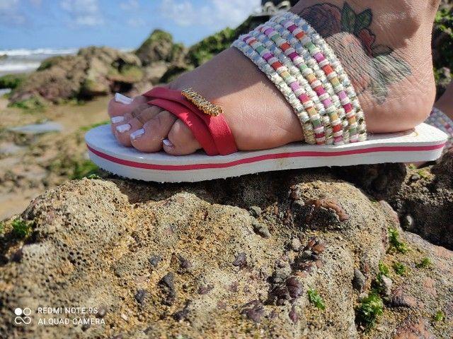 Havaianas de luxo para acabar  - Foto 4