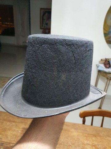 Cartola de tecido preta - Foto 4