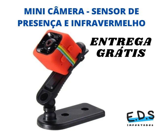 mini câmera filmadora  espiã sq11 - Foto 5