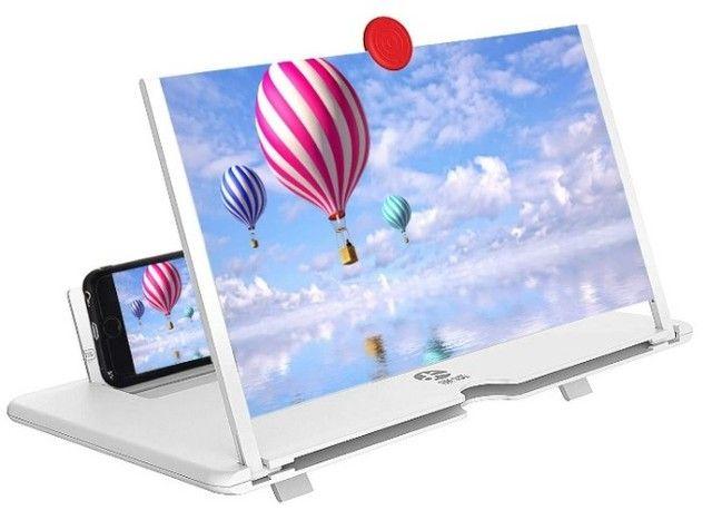Lupa Amplia tela Celular 3D Lupa - Foto 5