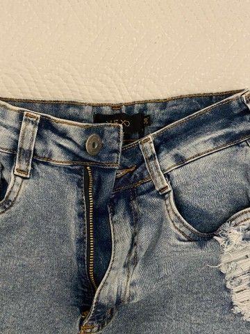 shorts jeans cintura alta  - Foto 2